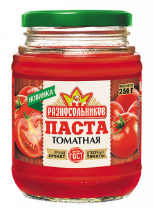Томатная паста (ГОСТ) 250гр.